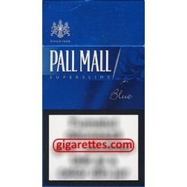 Pall Mall SuperSlims Blue
