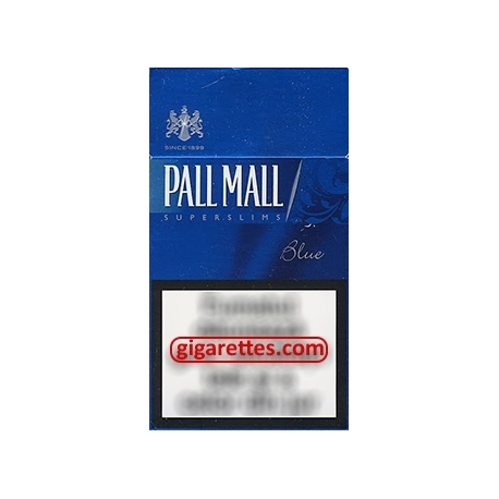 Pall Mall Super Slims Blue