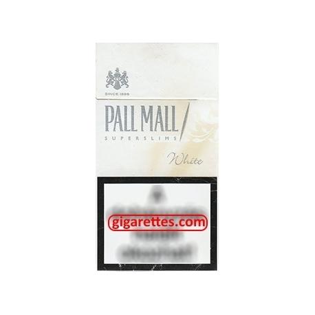 Pall Mall Super Slims White