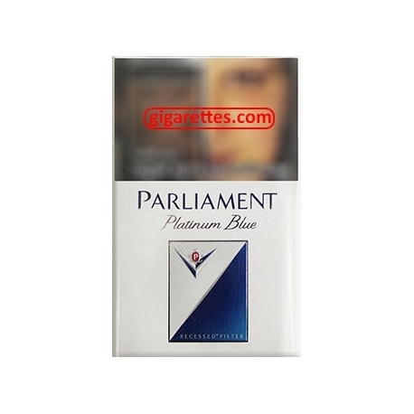 Parliament Platinum Blue